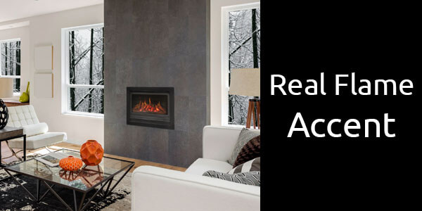 Real Flame Accent gas fireplace