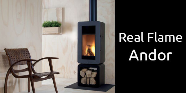 Real Flame Andor freestanding wood heater