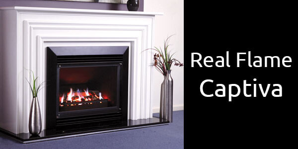 Real Flame Captiva gas fireplace