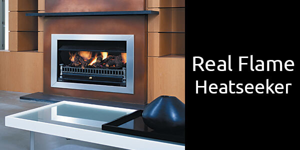 Real Flame Heatseeker gas fireplace