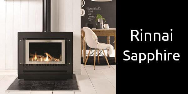 Rinnai Sapphire freestanding