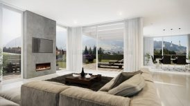 Escea DX1000 Fireplace