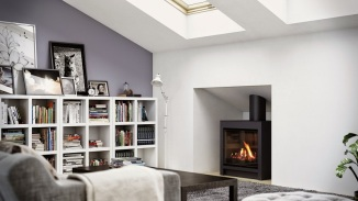 DFS730 freestanding gas fireplace