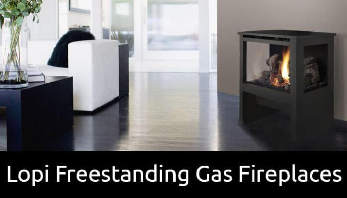 Lopi freestanding gas fireplaces