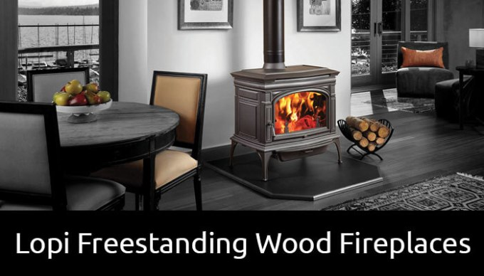 Lopi Freestanding Wood Fireplaces