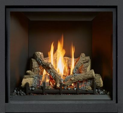 Lopi ProBuilder 36CF inbuilt gas fireplace