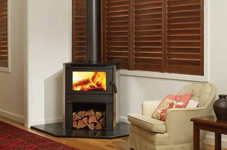Regency Alterra Freestanding Wood Heater with Wood Stacker