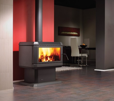 Regency Hume Freestanding Wood Fire